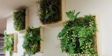 人工樹木の壁掛けウォールグリーン
